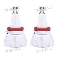 Tomall E87 E90 E91 E92 E93 H8 4 CREE XM L LED 40W 1800lm Angel Eyes