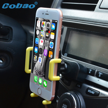 Universal CD Slot Car Cell Phone Holder Mount For iPhone5 6 Samsung Galaxy&Mobile Phone GPS Bracket Stands/mobile phone holders