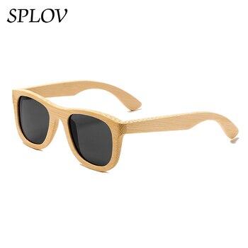 Nouvelle mode Main lunettes de soleil en bambou Polarisées homme femme Classique En Bois de Haute qualité lunettes de soleil Rétro Ombre Oculos de Sol uv400