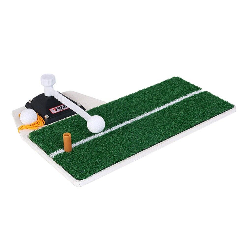 Entraîneur de balançoire de Golf PGM dispositif de pratique de Golf intérieur Portable entraînement de Golf tapis de pratique de frappe HL001 - 4