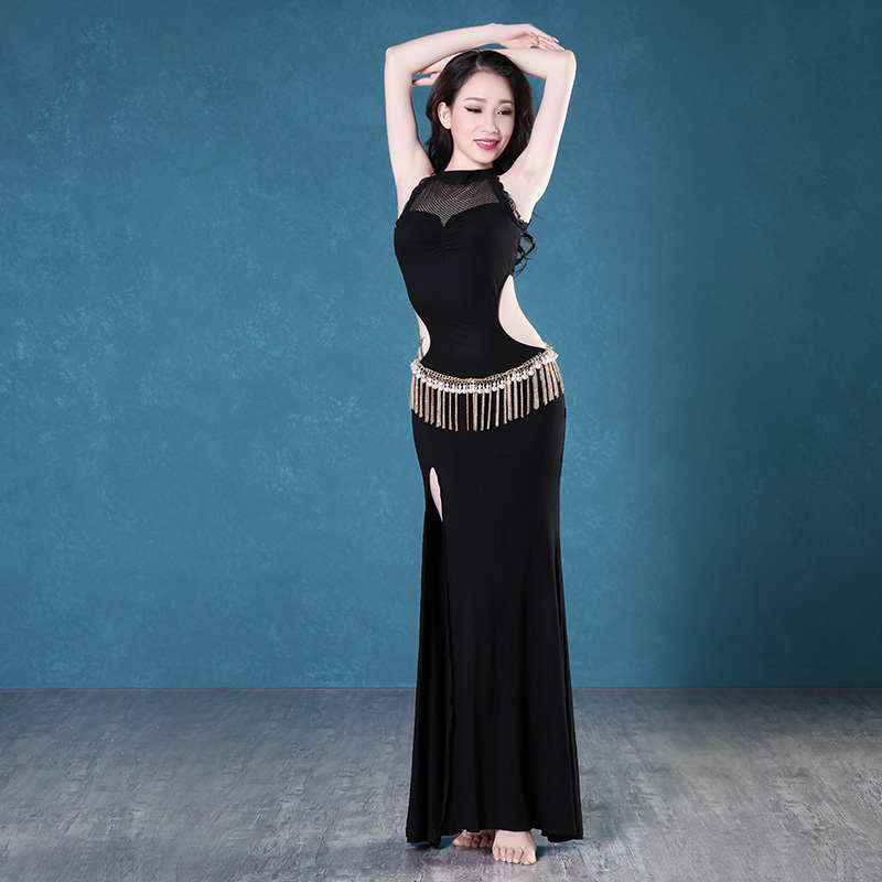 New girls belly dance dress women fashion dress lady dance clothes latin dance clothing dress