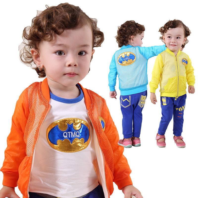 Anlencool Free shipping new Autumn baby clothes sets baby sun protection suit newborn baby clothing Infant fashion clothing set