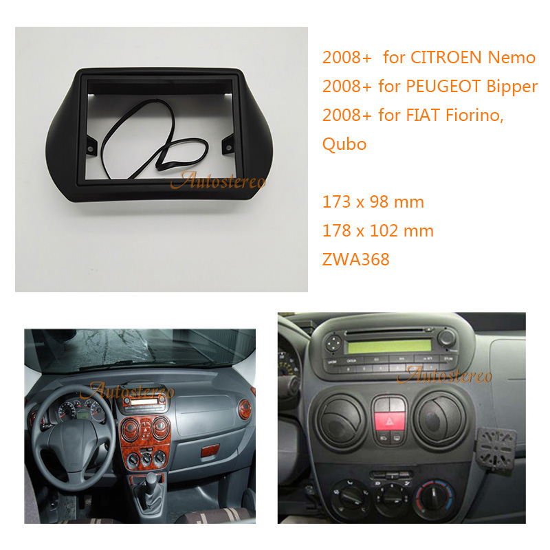 Aliexpress.com : Buy Two Din Car Radio Fascia For FIAT