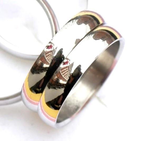 12 pz lotti all'ingrosso dei monili unisex in acciaio argento semplice band anelli 4mm