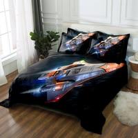 kids bedding set Twin king Queen 3D bedsheet Duvet bed cover Pillowcase California king Bed Linen Textiles Drop Ship Sky rocket