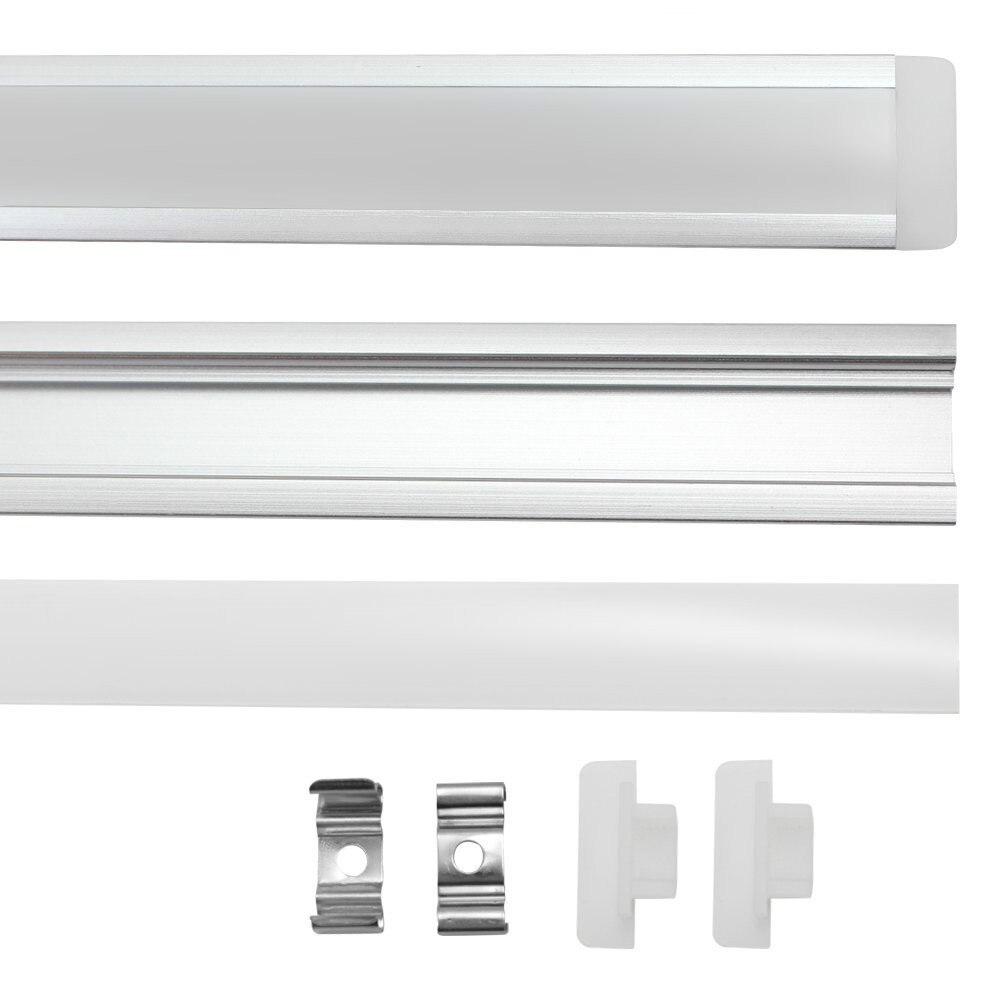 10st 1m 5630 5730 72led hårdplattstångsskåpsljus DC12Vwith - LED-belysning