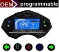 Цифровой  тахометр, спидометр, индикатор передачи, часы для мотоцикла.