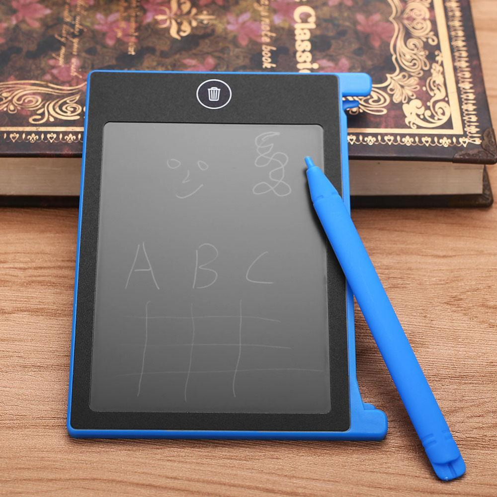 4.4 Inches Kids LCD Tablet Writing Board Drawing Pads Message Board Note Digital