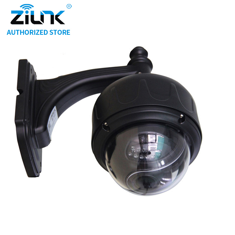 ZILNK Full HD 1080P 2Megapixel WiFi Outdoor 5x Optical Zoom PTZ Wireless IP Camera Motion Detection Onvif Suppot TF Card Black zilnk mini ptz speed dome ip camera 960p 5x optical zoom waterproof cctv wifi support tf card motion detection onvif h 264 black
