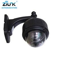 ZILNK Full HD 1080P 2Megapixel WiFi Outdoor 5x Optical Zoom PTZ Wireless IP Camera Motion Detection Onvif Suppot TF Card Black