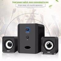 SADA D 201 Mini 3 5mm Audio Jack Wired USB Powered Speaker 3W Portable Stereo Music