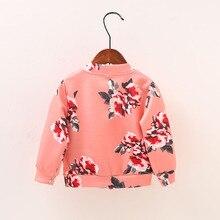 New Girls Jackets Autumn Elsa Baby Cotton Jackets Girls Clothes Zipper Cardigan Outwear Kids Coat Children Clothing Costume