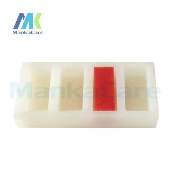 Manka Cuidar-Borracha Do Molde de Gesso/Usado na produção de tiras de gesso/Feito de importados rubbe silicone Por Via Oral Modelo de Dente dentes