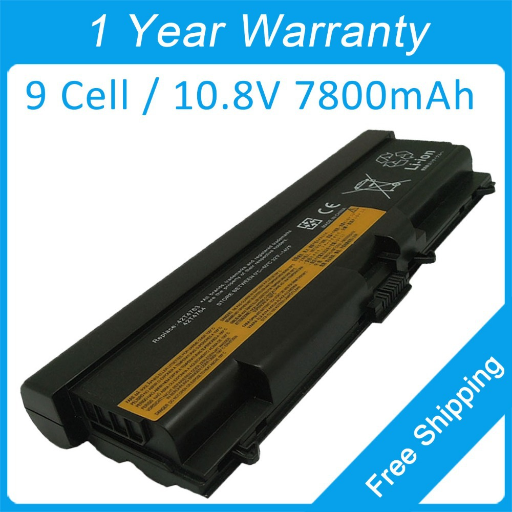 New 9 cell laptop battery for lenovo ThinkPad L520 SL410 SL510 T410 42T4737 42T4753 42T4852 42T4911 42T4912 FRU 42T4755 42T4751 genuine original laptop battery for lenovo thinkpad p70 series fru 00hw030 ams fb10f46468 15v 6 4ah 96wh 4icr18 65 2