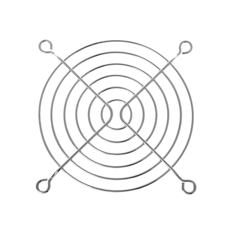 3cm/4cm/6cm/7cm/9cm/12cm Fan Protection Net Grille Dia Iron Mesh Safety Grid For Computer Case Fans