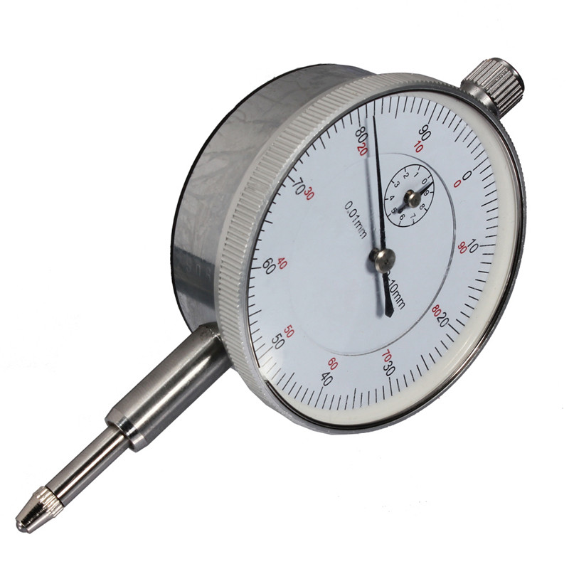High Quality 0.01mm Accurancy Measurement Instrument Graduated Dial Gauge Indicator Gage New Arrival