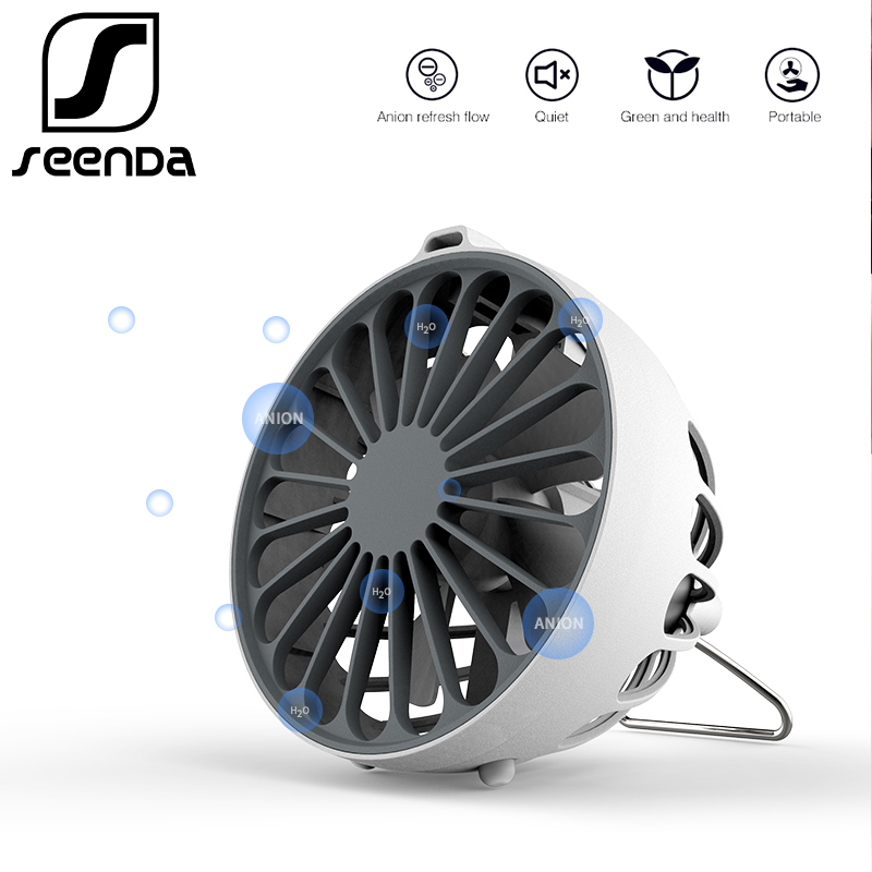 SeenDa Anion USB Fan For Office Home Portable Computer PC Mini USB Fan Electric Laptop Cooling Silent Small Fan For Student зоогурман консервы мясное ассорти говядина для кошек 250 г