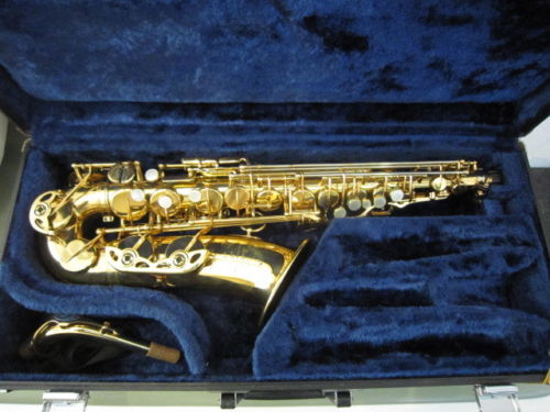 2018 High Quality Copy 95% Custom Mark VI Alto Saxophone Gold Lacquer Saxophone Brass Instruments E Flat Sax With Case free shipping new high quality tenor saxophone france r54 b flat black gold nickel professional musical instruments