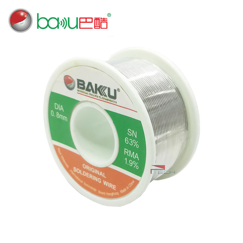 BAKU Solder Wire BK 100 Tin Lead Rosin Core Iron Soldering Wire Reel ...
