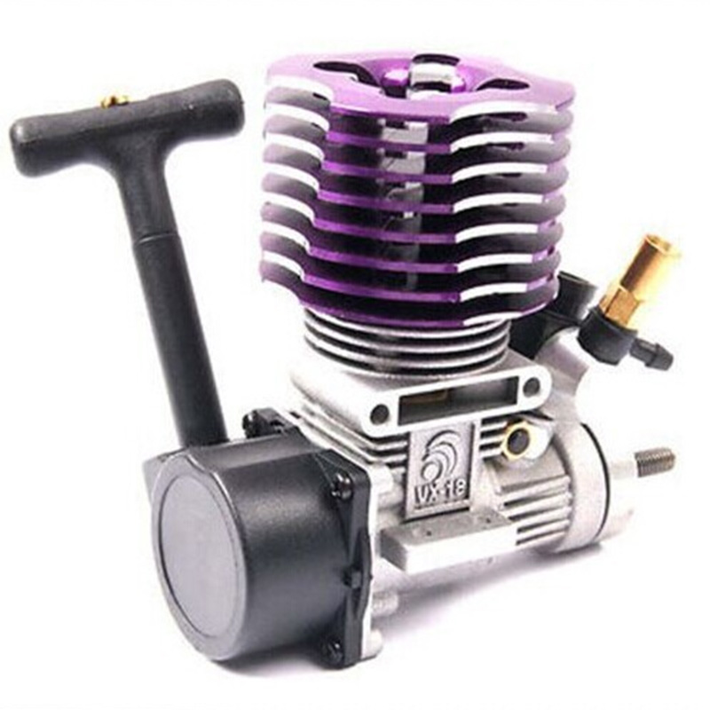 HSP 02060 18 Engine 2.74cc Pull Starter for 1/10 Nitro Car Buggy EG630 двигатель super tigre 18 nitro купить