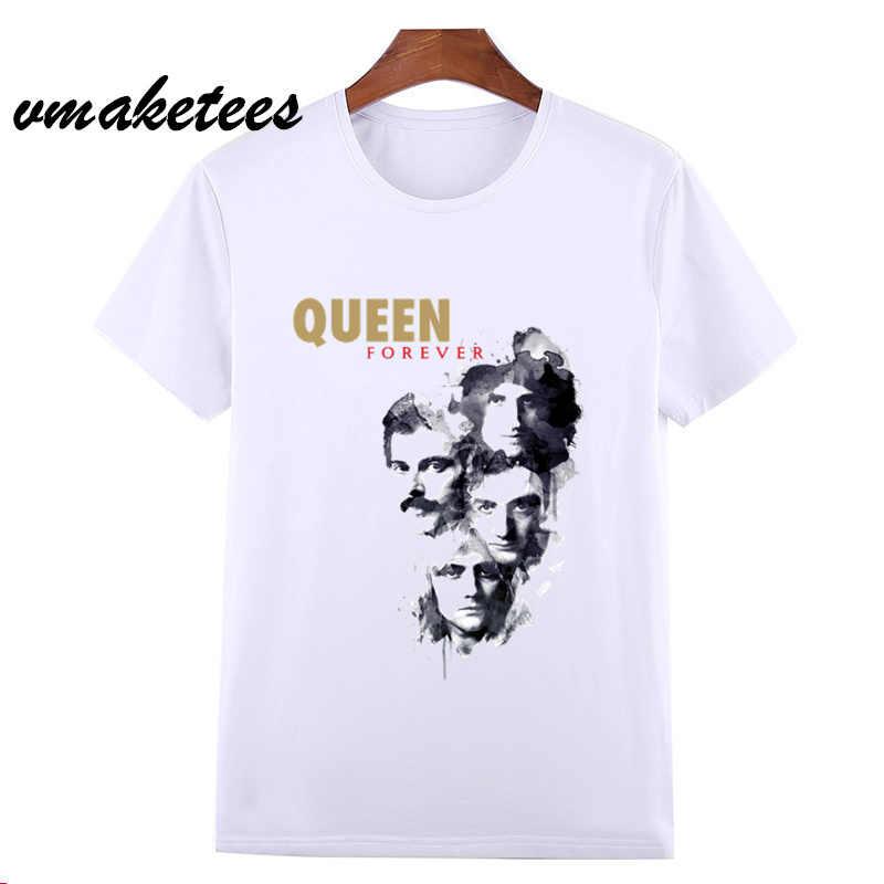 Asiatische Größe FREDDIE MERCURY Heavy Rock top 100 Band Königin T T-shirt kurzarm O-ansatz T-shirt Für Männer Frauen HCP627