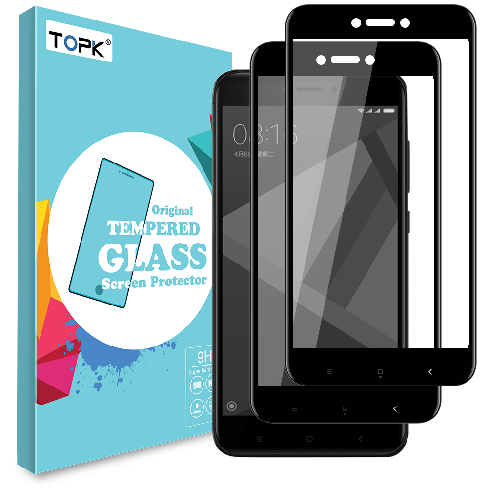 Gertong Screen Protector Tempered Glass For Doogee X5 Max Pro X6 S60 Smile Xiaomi Redmi4x Clear Redmi 4x Topk Hd Full Coverage Automatic Adsorption