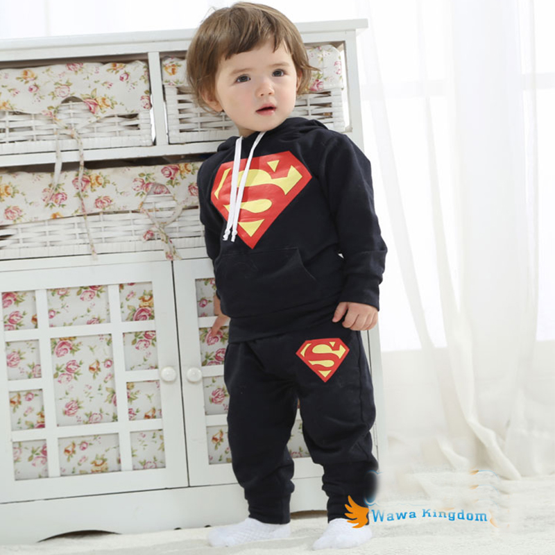 Spiderman Suit for Kids Child Spider Man Clothing Boys Suit Baby Boy Track Suit Children Set Long Sleeve Sports Hoodies Sets