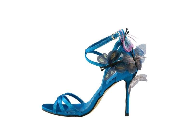 Sangle Avec Talons Sandales Haute Summer De Boucle D'été As New Mode Picture Papillon Bout Chaussures Pointu 2018 Mince Picture Super as wgtYXqzw
