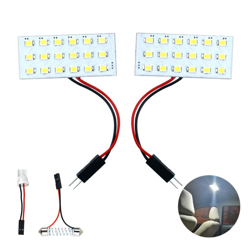 Cob Accessories Interior LED Bulbs Cob Work Decor Lamp LED Bulb For Luxgen U6 7 5 LADA Kalina 1117 1118 Priora 2 NIVA Safari