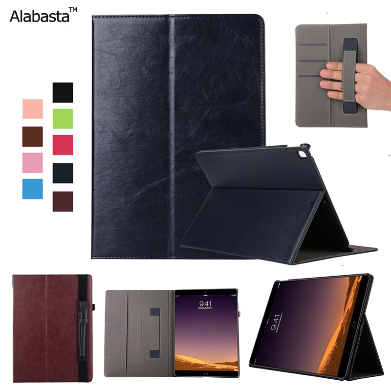 Alabasta for iPad Pro 12.9 Case Cover capa leather shield sleeve Card Pouch Folder protector  Wake /Sleep Stand Flip Bags Cover alabasta cover case for apple ipad air1