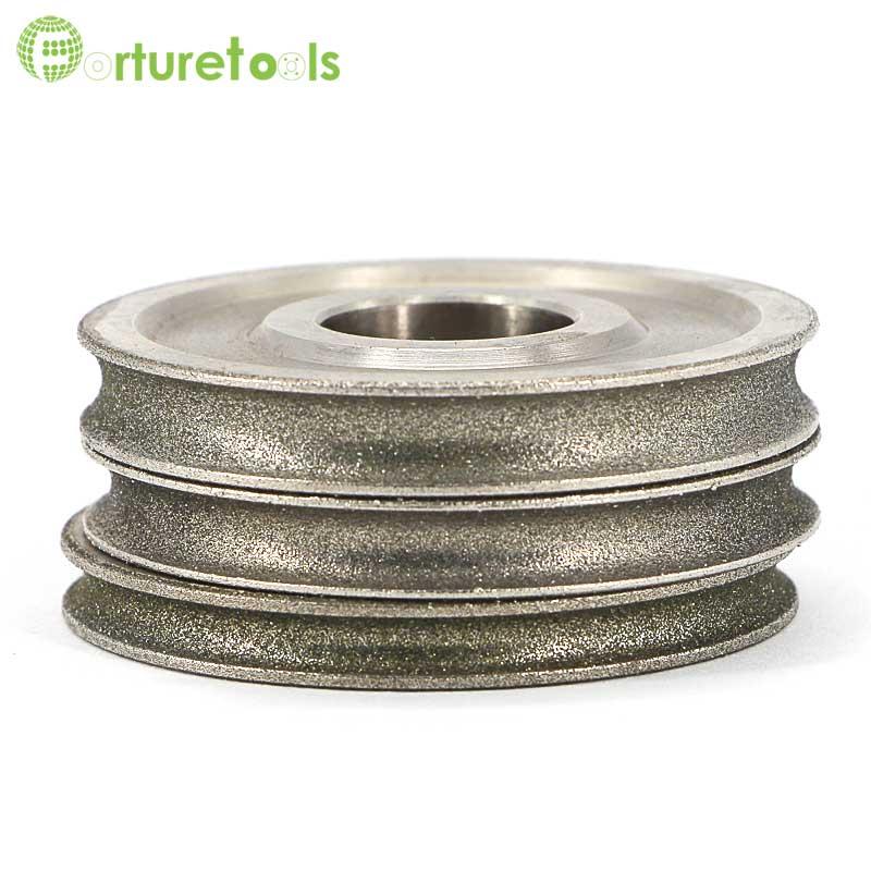 1 pièce Meule abrasive électrolytique revêtue de diamant de bord - Outils abrasifs - Photo 6