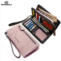 Wallet Case For XIAOMI Redmi HUAWEI IPhone 6 7 Plus Strap Hand Bag Card Slot Large