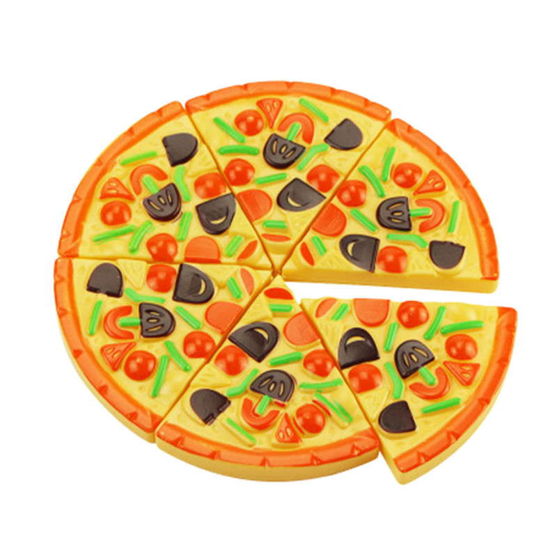 Childrens Food Pizza Sliced Music Simulation House Toys Gifts For Kids Play