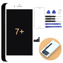 For Iphone 7 Plus LCD NO dead pixel 1pcs Screen Display Touch Digitizer Complete Assembly Replacement Parts