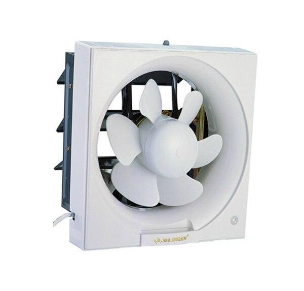 FTVOGUE Ventilation Murale Ventilateur de Ventilation Ventilateur Mural Plaque de Flux Ventilateur Salle de Bains Cuisine Garage air Ventilation Offre 25W 220V