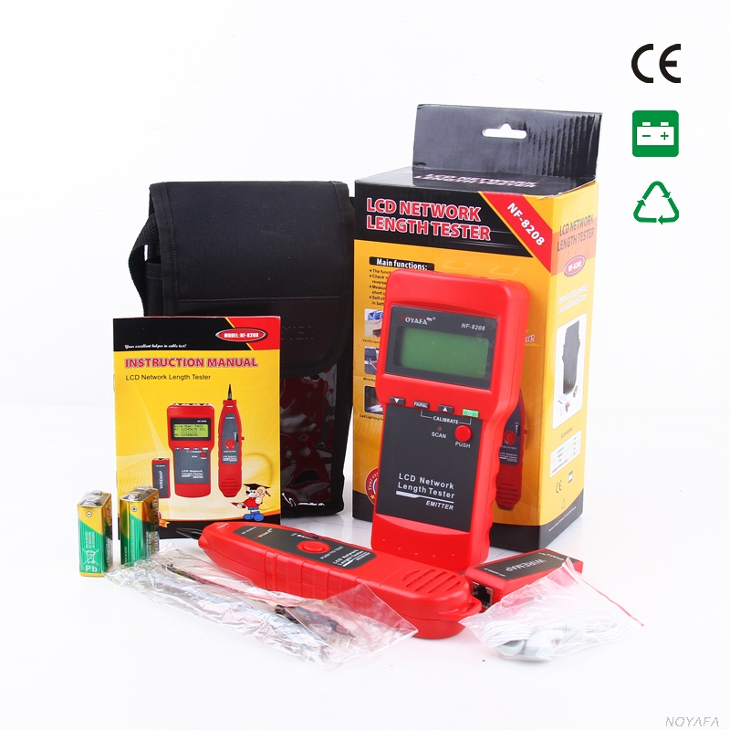 NF-8208 Line finder Length Tester Network Cable Tracker Ethernet Cable Tester wire Network Tracker Fast shipping