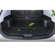 Lsrtw2017 Durable Fiber Leather Car Trunk Full Mat for Chery Tiggo 8 2018 2019 2020