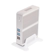Mini pc i3 3150u кну windows 10 микро barebone компьютер hd 5500 графика 4 К HTPC 300 М Wi-Fi Bluetooth VGA HDMI 4 ГБ RAM 64 ГБ SSD
