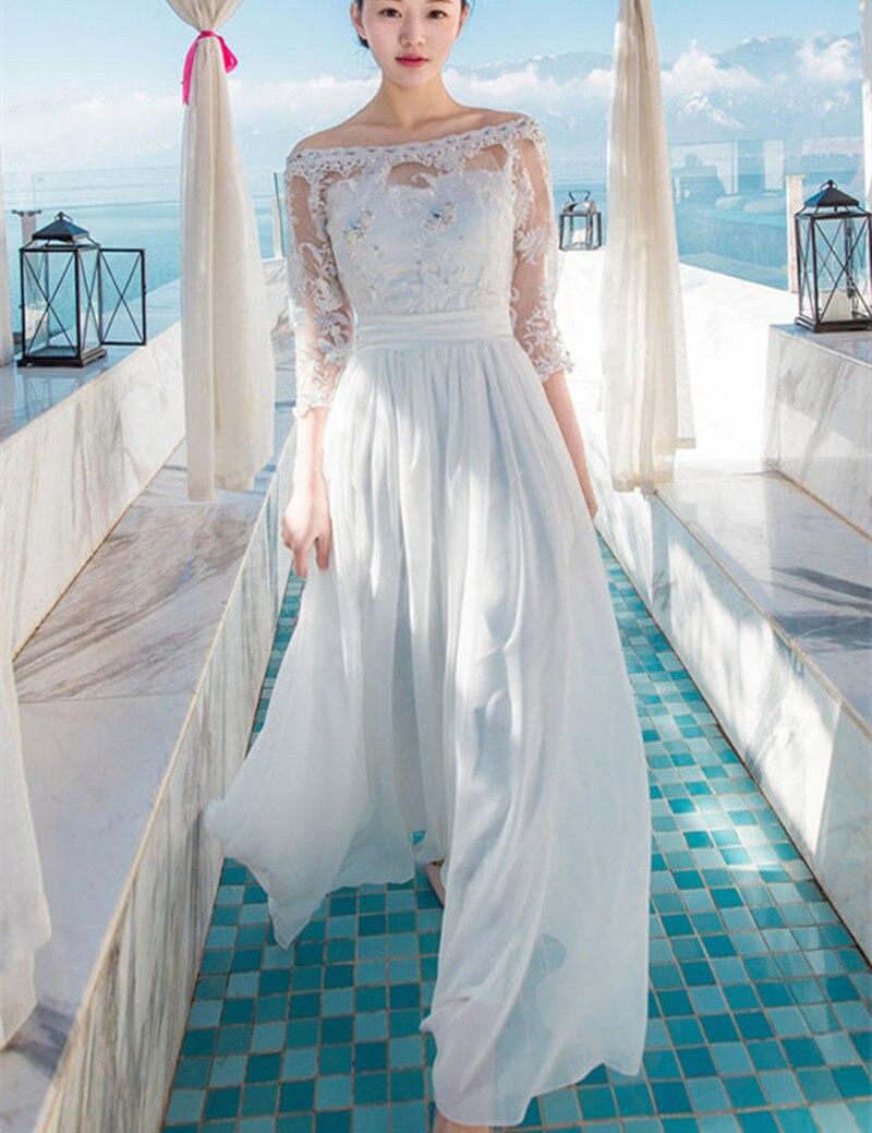 Off White Beach Wedding Dresses | Dress images