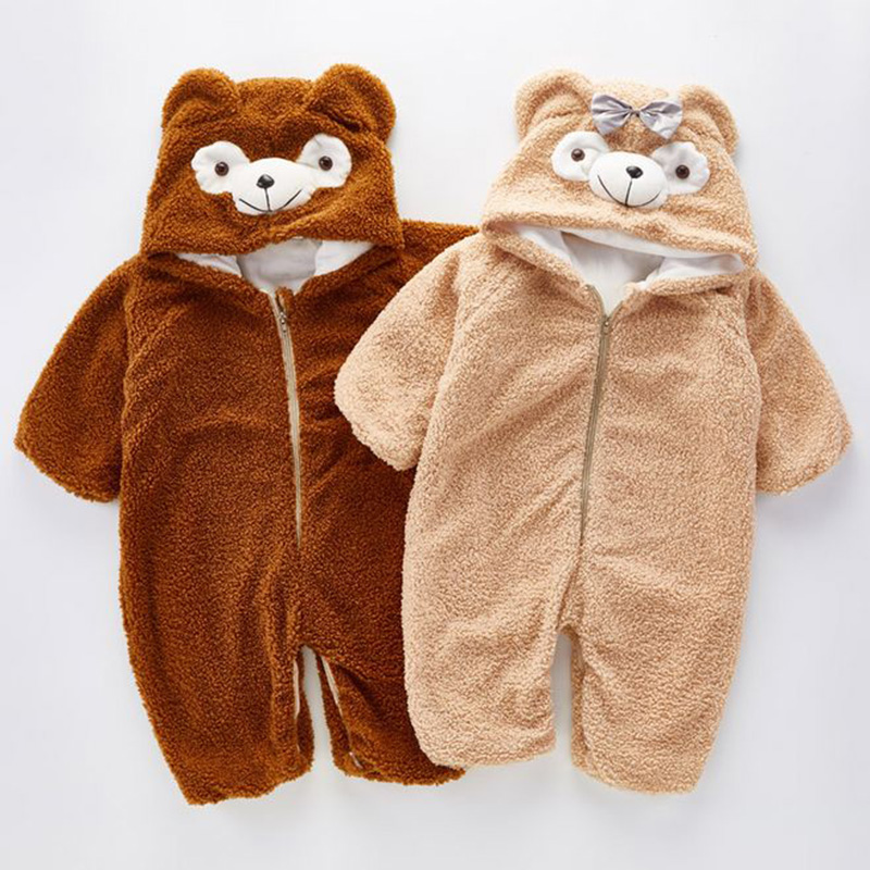 Baby Winter Duffy Bear Romper Fleece Kids Pajamas Christmas Costume Toddler Jumpsuit Baby Clothes Children Climbing Suit -in Rompers from Mother u0026 Kids on ... & Baby Winter Duffy Bear Romper Fleece Kids Pajamas Christmas Costume ...
