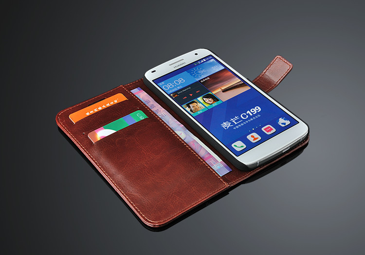fundas Huawei Ascend G7 Väskekortshållare fodral för Huawei G7 - Reservdelar och tillbehör för mobiltelefoner - Foto 5