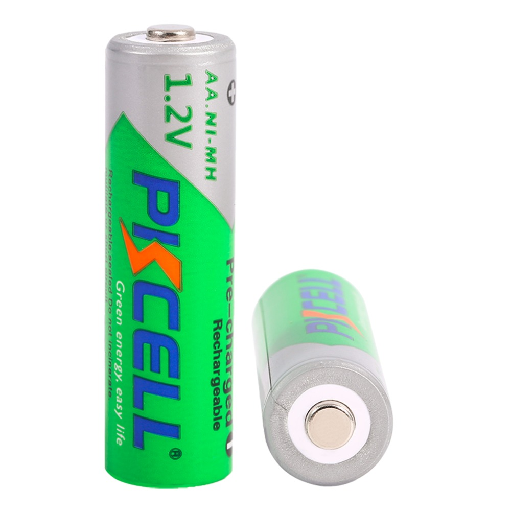 8Pcs/2card Practical AA Rechargeable Battery 1.2V 2200mAh Ni-MH Battery Pre-Charged Rechargeable Batteries For Camera