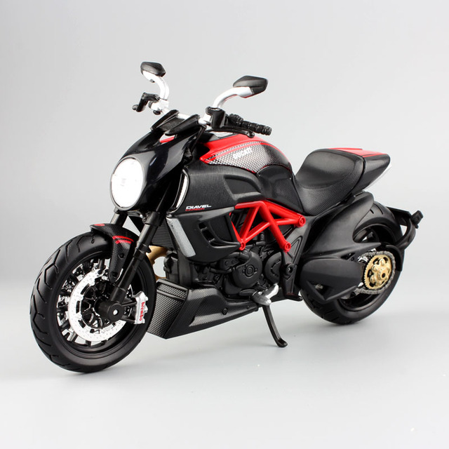 1 12 Scale Maisto Kids Diavel Cruiser Superbike Diecast Model Ducati