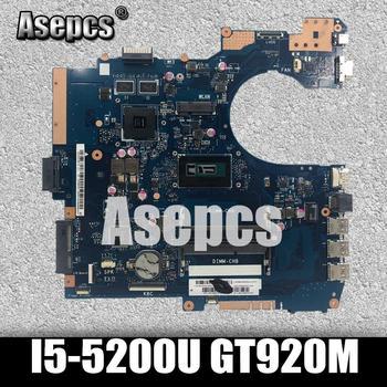 Asepcs P552LA_LJ Laptop motherboard for ASUS P552LA P552LJ P552L P552 Test original mainboard I5-5200U GT920M