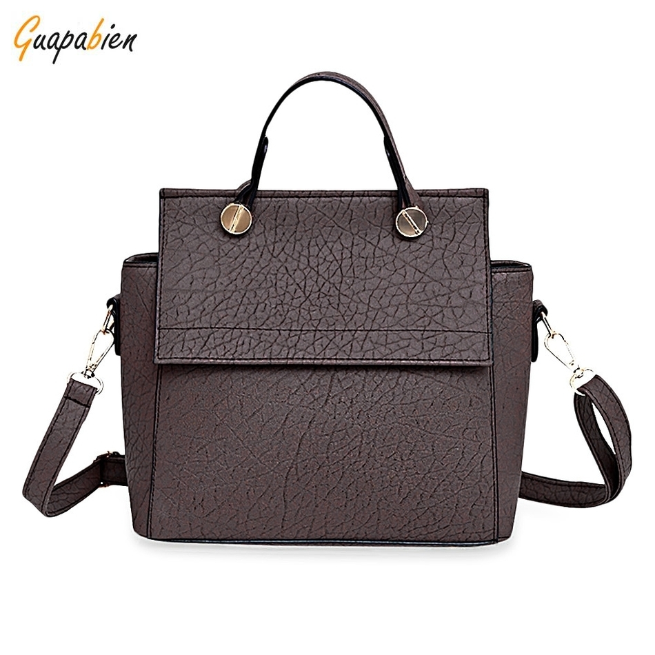 2017 New Arrival High Quality Vintage Trapeze Tote Women Leather Handbags Ladies Party Shoulder Bags Fashion Top-Handle Bags hot new arrival vintage tote bag women leather handbags ladies party shoulder bags fashion top handle bags ladies cute bear drop