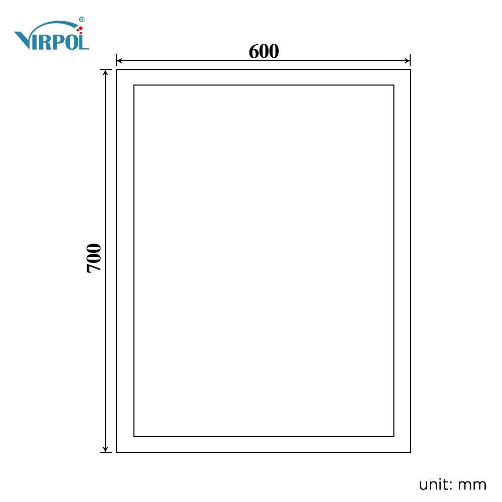 Bluetooth ILLUMINATED LED bath mirrorWall IP44 E102B 90 240v 70x60cm ...