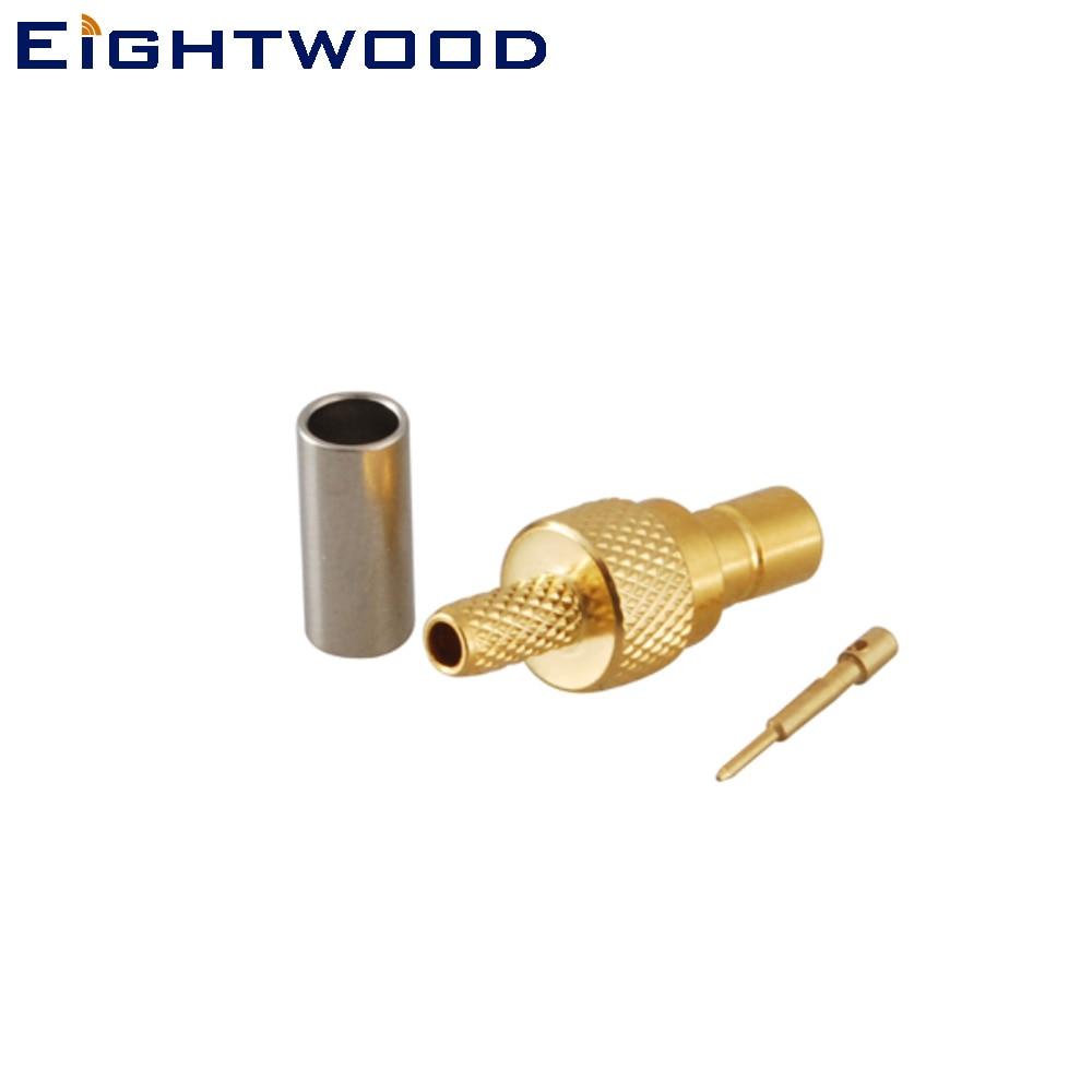 Eightwood DAB Antenne F Adapter SMB DAB Kit 2 Typ f/ür Car Satellite Sirius XM DAB Radio Antenna Aerial Pigtail Kabel MEHRWEG