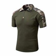 Men Tactical Gear Military Airsoft Special Ops Combat Shirt Camouflage Light Weight Rapid Assault Short Sleeve Shirt Frog Shirt