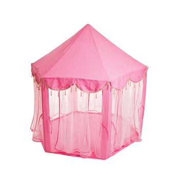 The New Hexagonal Princess Toys Tent Large Gauze Children's Play House Baby Anti-mosquito Big House Parent-child Interactive Toy