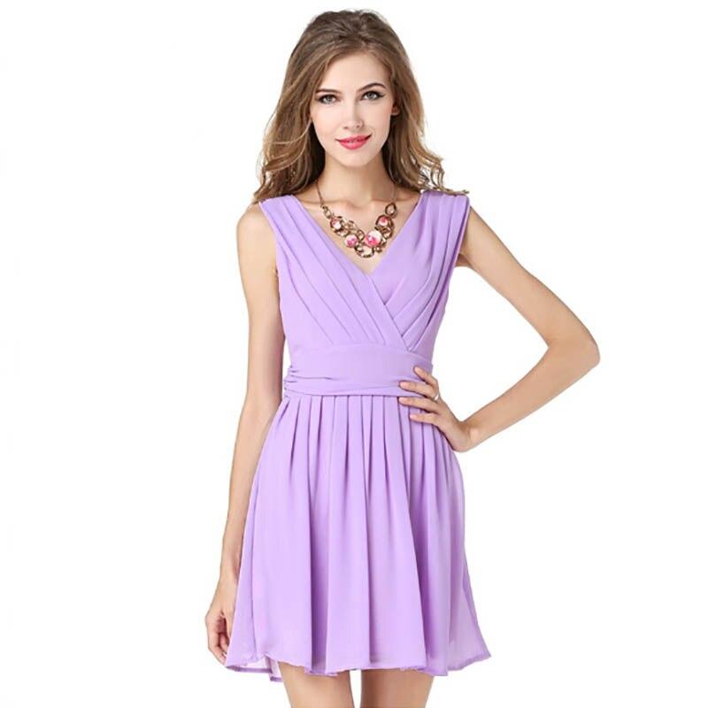 Contemporáneo Vestidos De Cóctel De Color Púrpura Viñeta - Ideas de ...